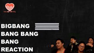 [4LadsReact] BIGBANG - BANG BANG BANG MV Reaction