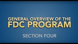 The FDC Program   Section 4: Filing an Electronic FDC for Disability Compensation