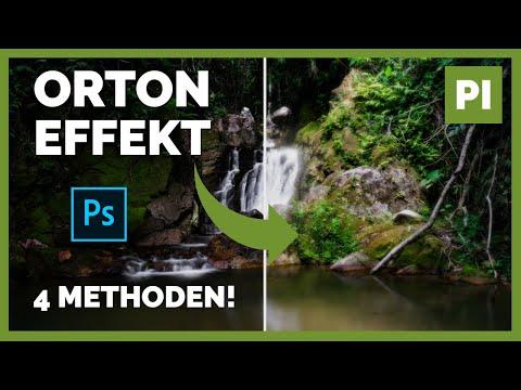 Der ORTON EFFEKT 📷 Bilder leuchten lassen in 4 METHODEN ➡️ PHOTOSHOP Tutorial