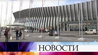 Новый терминал аэропорта «Симферополь» принял первый рейс.