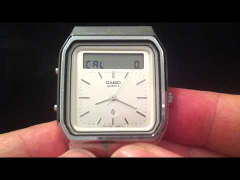 Touch screen watch from 1984