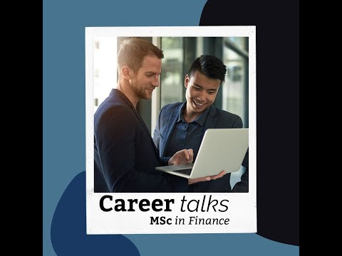 Career in Finance - Alumni Talk!