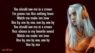 Billie Eilish   You Should See Me In A Crown (Lyrics)