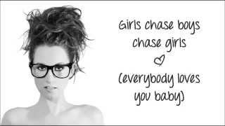 Ingrid Michaelson - 'Girls Chase Boys' (Lyric Video)