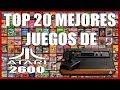 Top 20 Los Mejores Juegos De Atari 2600