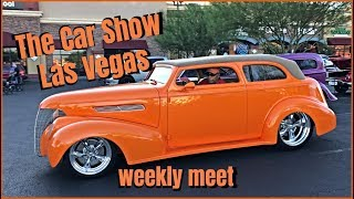 The Car Show Las 8.17.19 great weather day for some sweet Rides