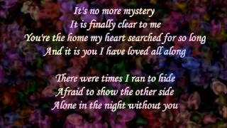 Dana Glover ~ It Is You I Have Loved
