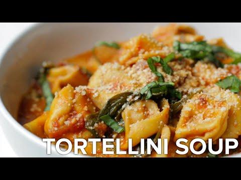 Tortellini Soup • Tasty Recipes
