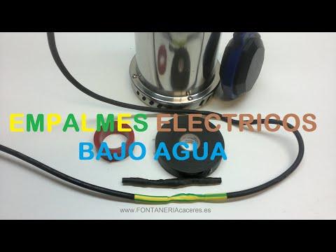 EMPALMES ELECTRICOS BAJO AGUA
