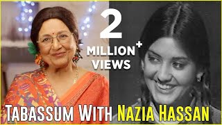 Nazia Hassan | Rare Full Interview | Aap Jaisa Koi | Tabassum Talkies