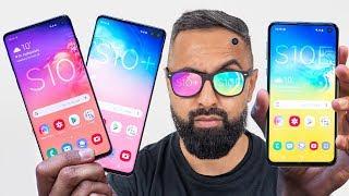 Samsung Galaxy S10 vs S10 Plus vs S10E