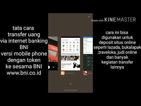 Cara Transfer bni internet banking