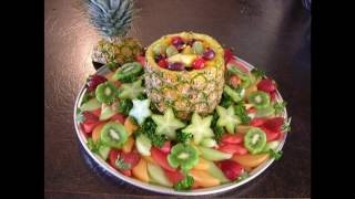 Creative Fruit Tray Decoration Ideas