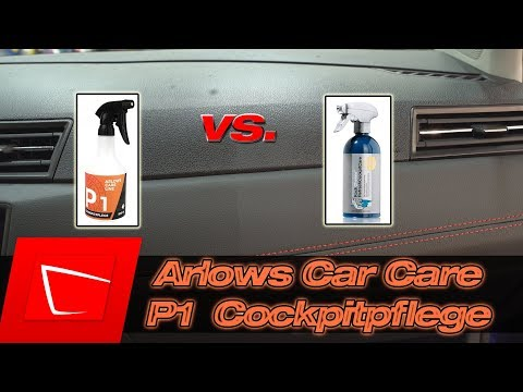 Arlows Car Care by Philipp Kaess Kunststoff- und Cockpitpflege vs. Koch Chemie Refresh Cockpit Care