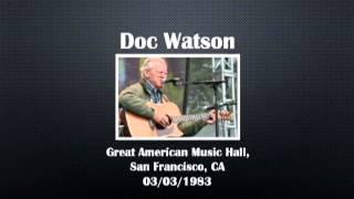【CGUBA313】 Doc Watson 03/03/1983