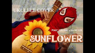 sunflower cover post malone ukulele - TH-Clip
