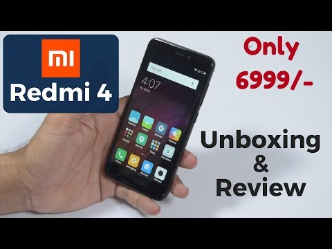 REDMI 4 Unboxing & Review | The Best Smartphone??? [Hindi]