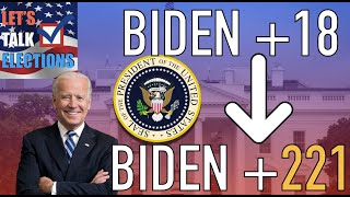 Joe Biden's Lead Expanded From 18 to 221 Electoral Votes in Just 2 Months
