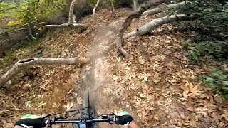 Trying the new GoPro Hero4 Session on the Sullivan Canyon singletrack.