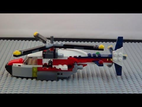Vidéo LEGO Creator 31020 : L'avion à double hélices