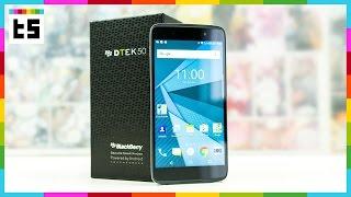 Hands-on und Unboxing: BlackBerry DTEK50 (deutsch)