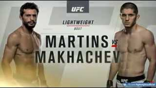 UFC 192 / Взвешивание: Ислам Махачев vs. Адриано Мартинс