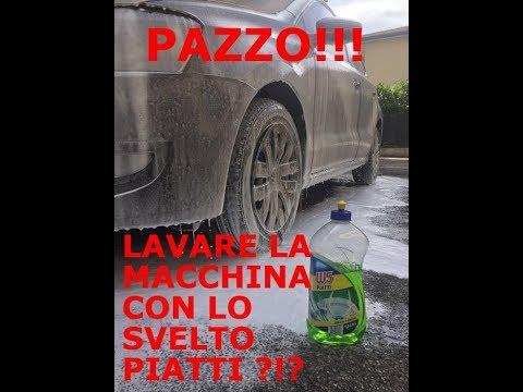 Lavare l'auto col sapone per piatti, SONO PAZZO?