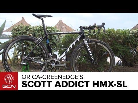 Orica-GreenEdge's Scott Addict HMX-SL
