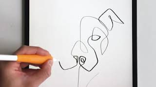 How to Draw a Cat and Dog in One Line