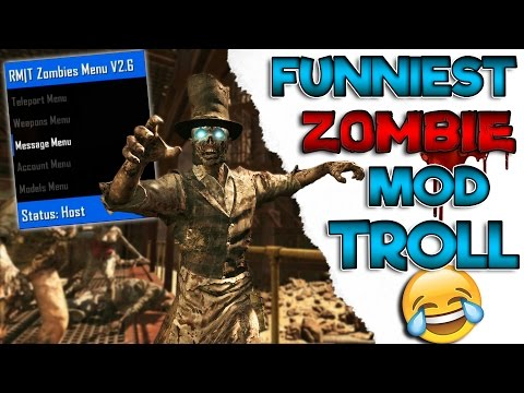 FUNNIEST Zombie Mod Trolling EVER!!!!!