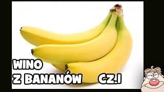 Przepis na wino bananowe wg Malinowynos.pl