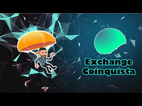 100 tokens  de GRAÇA na Exchange Coinquista !