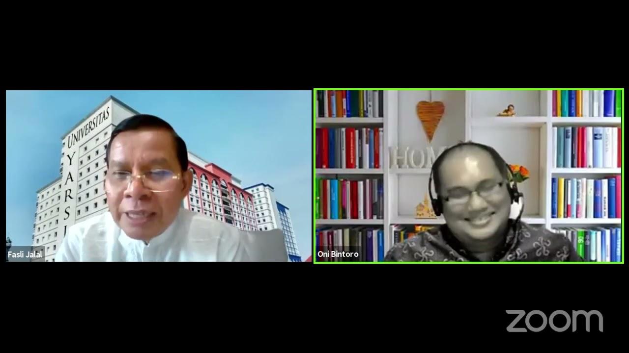 ICMI PODCAST Satu Jam Bersama Prof Fasli Jalal Bag 7