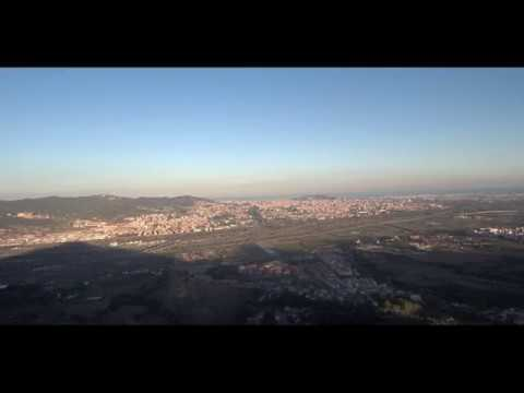 4K VIDEO   ||  Santa Coloma de Cervelló desde las alturas