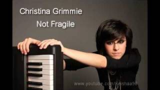 Christina Grimmie - Not Fragile [Lyrics]