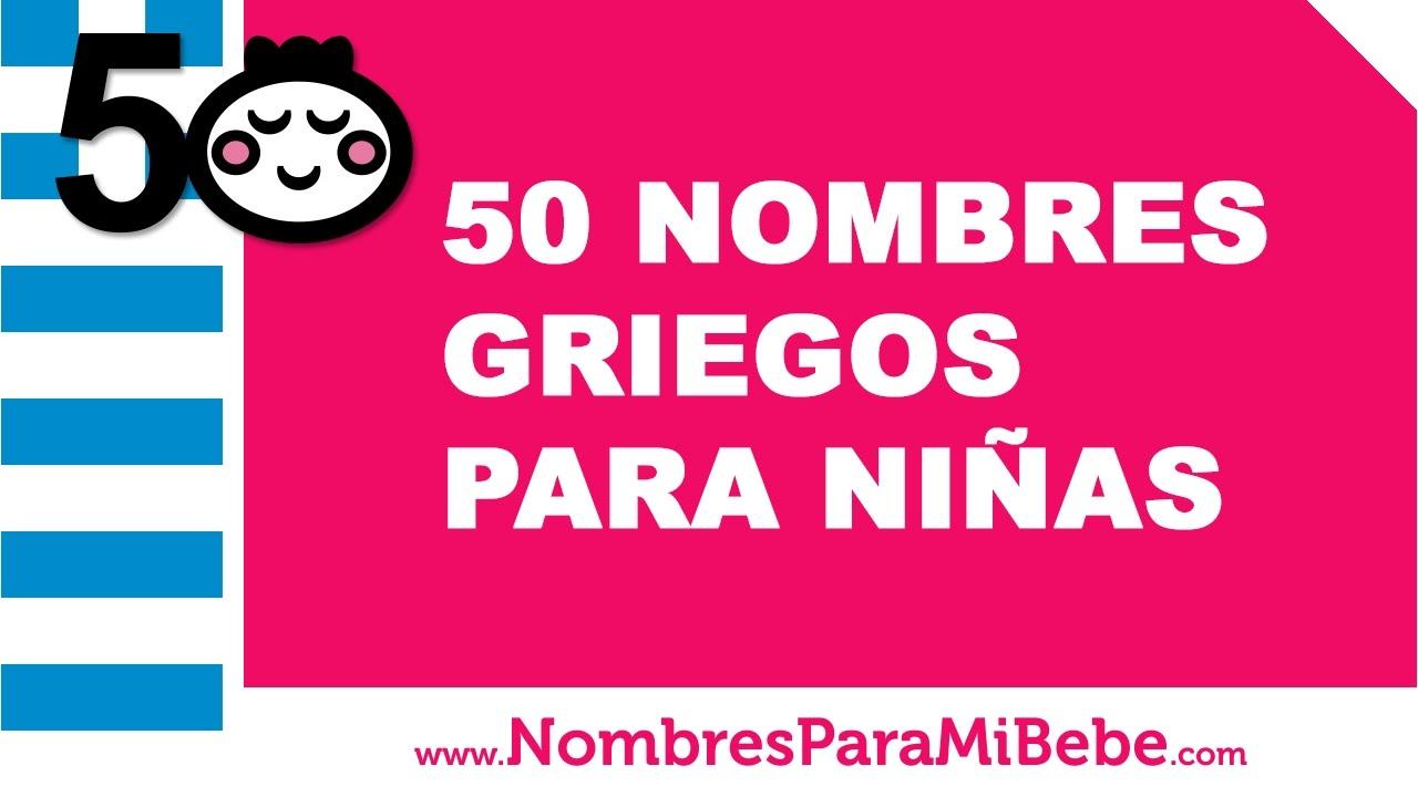 50 nombres griegos para niñas - los mejores nombres de bebé - www.nombresparamibebe.com