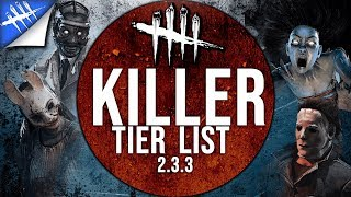 Killer Tier List - Dead by Daylight - Patch 2.3.3 [Updated]