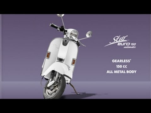LML Star Euro Automatic 150cc Scooter Launched In India | Take A Look