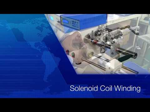 S2120 Solenoid with Tailstock Winding Machine