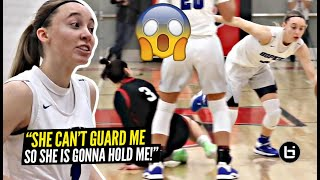 """""""She CAN'T Guard Me, So She's Holding Me"""" Paige Bueckers Gets HEATED & BREAKS Defender's ANKLES!!"""