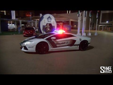 Siêu xe cảnh sát Dubai đi tuần (Lamborghini Aventador, Mercedes SLS AMG, Bentley Continental GT)