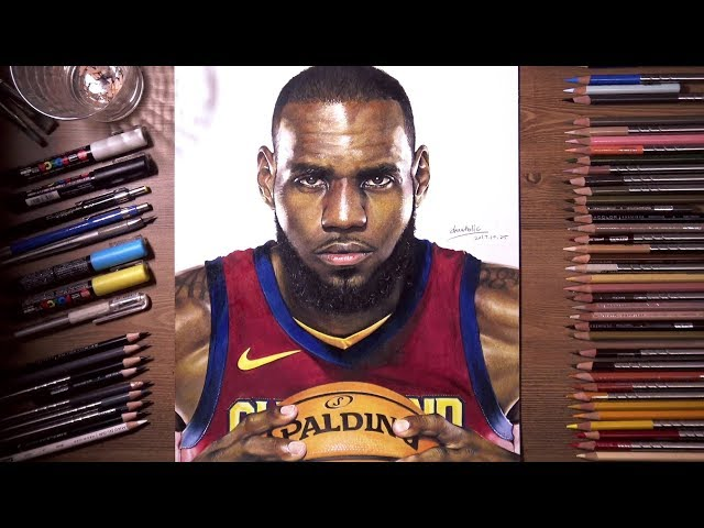 Drawing-lebron-james-colored