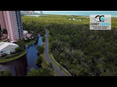 Pelican Bay South Tram Station and Beach Club Video Naples, Florida