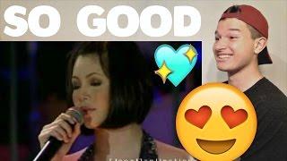 Regine Velasquez Singing Say That You Love Me Reaction!