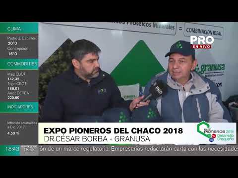 Expo Pioneros 2018: entrevista a Granusa, Canal Pro