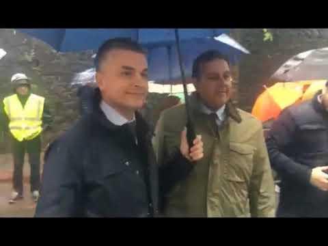 GENOVA, RIAPERTA VIA FILLAK SOTTO I RESTI DI PONTE MORANDI