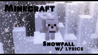 [TMS!B]. Minecraft Music Video] Snowfall (feat. Laura Brehm) - Approaching Nirvana [Lyrics Video]