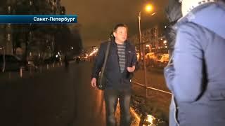 """Активисты """"СтопХам"""" проучили пьяного водителя в Петербурге"""