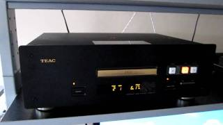 TEAC VRDS 10 Stereo Hi-End CD Player (plays JAZZ)