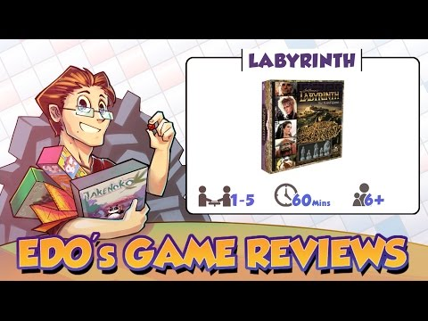Edo's Jim Henson's Labyrinth: The Board Game Review
